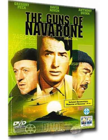 The Guns of Navarone - Gregory Peck - David Niven - DVD (1961)