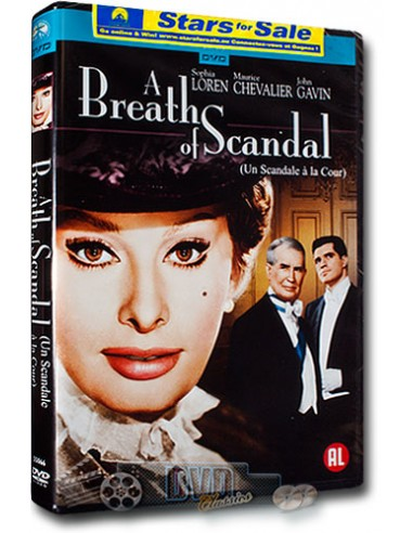 A Breath of Scandal - Sophia Loren, Maurice Chevalier - DVD (1960)