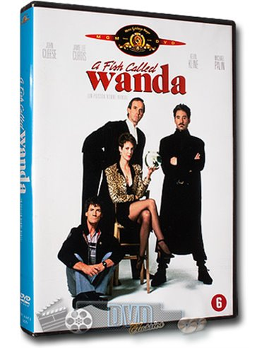 A Fish Called Wanda - Jamie Lee Curtis, John Cleese - DVD (1988)