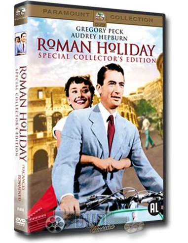 Roman Holiday - Gregory Peck, Audrey Hepburn - William Wyler - DVD (1953)