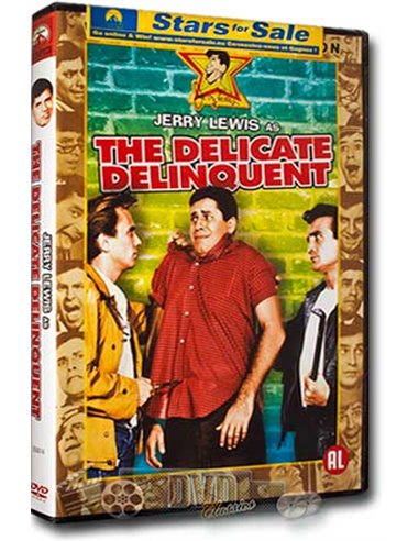 The Delicate Delinquent - Jerry Lewis - DVD (1957)