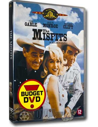 Marilyn Monroe - The Misfits - Clark Gable - DVD (1961)