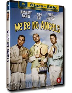 We're no Angels - Humphrey Bogart, Peter Ustinov - DVD (1955)