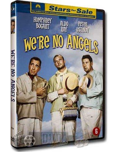 We're no Angels - Humphrey Bogart, Peter Ustinov - DVD (1955)