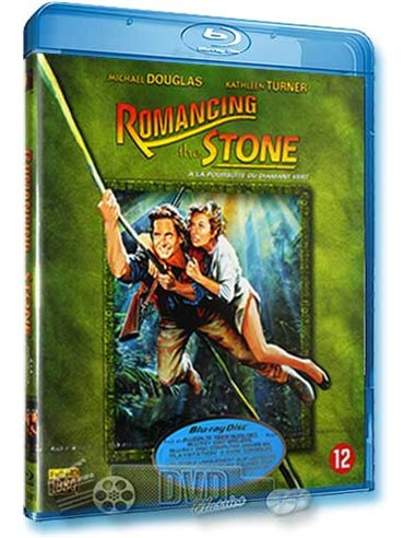 Romancing the Stone - Michael Douglas - Blu-Ray (1984)