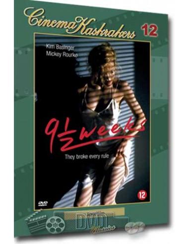 9 1/2 Weeks - Kim Basinger - DVD (1986)