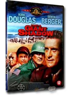 Cast a Giant Shadow - Kirk Douglas - DVD (1966)