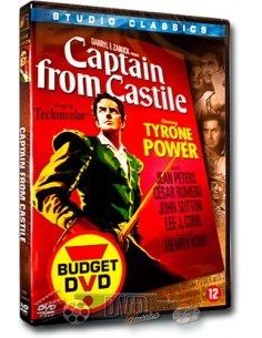Captain from Castile - Tyrone Power - DVD (1947)