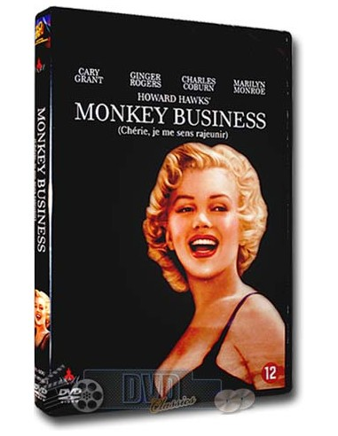 Marilyn Monroe - Monkey Business - Cary Grant - DVD (1952)