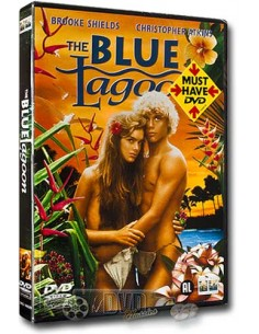 The Blue Lagoon - Brooke Shields - DVD (1980)