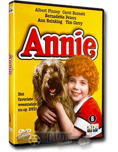Annie - Albert Finney, Bernadette Peters, Carol Burnet - John Huston - DVD (1982)