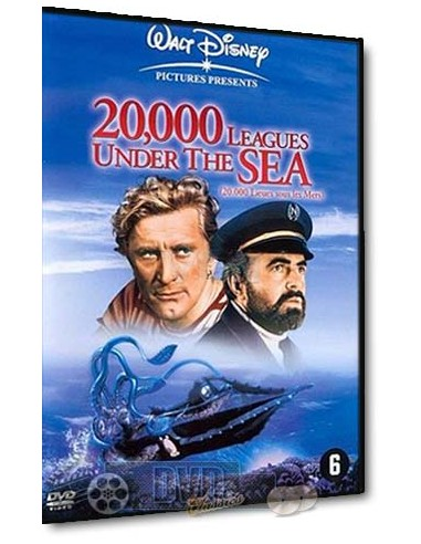 20,000 Leagues Under The Sea - Kirk Douglas, James Mason - DVD (1954)