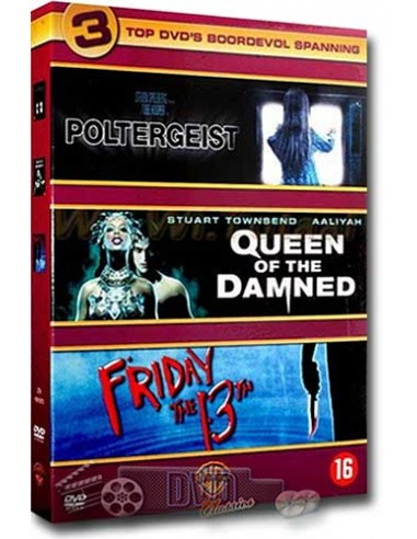Poltergeist / Queen of the Damned / Friday 13th [3DVD]