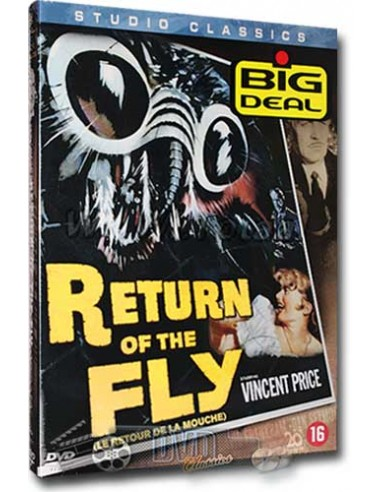 Return of the Fly - Vincent Price - DVD (1959)