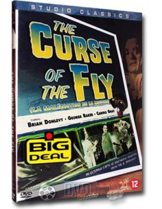 The Curse of the Fly - Brian Donlevy - DVD (1965)