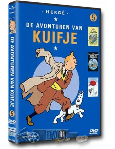 Kuifje Collection 5 - DVD (1991)