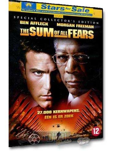 The Sum of All Fears - Ben Affleck, Morgan Freeman - DVD (2002)