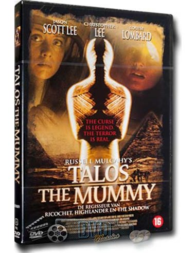 Talos the Mummy - Christopher Lee, Sean Pertwee - DVD (1998)