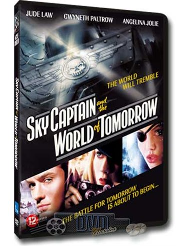 Sky Captain and the World of Tomorrow - Angelina Jolie -  DVD (2004)