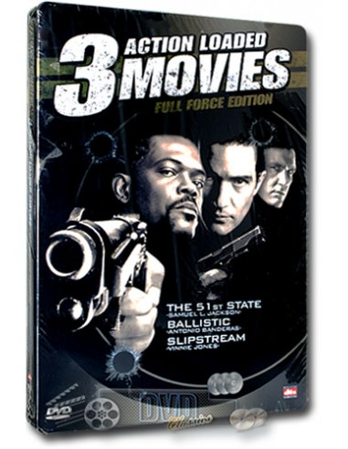 3 Action Loaded Movies Full Force Edition [3DVD] Steelbook