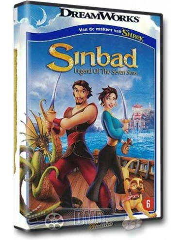 Sinbad Legend of the Seven Seas - DVD (2003)