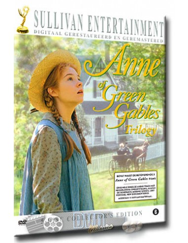 Anne of Green Gables Trilogy - Kevin Sullivan - DVD (2013)