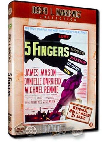5 Fingers - James Mason, Danielle Darrieux - DVD (1952)