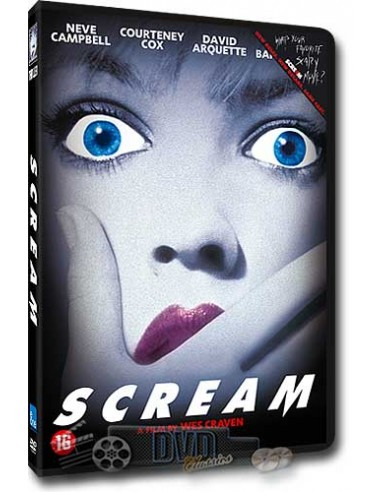 Scream - Courteney Cox, David Arquette, Drew Barrymore - DVD (1996)