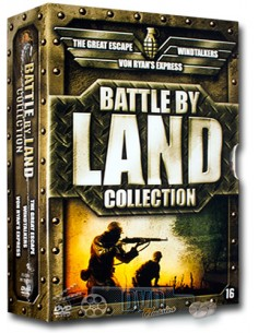 Battle by Land Collection - John Sturges [3DVD]