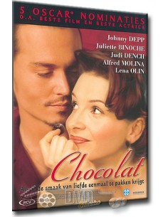 Chocolat - Carrie-Anne Moss, Johnny Depp, Lena Olin, Juliette Binoche - DVD (2000)