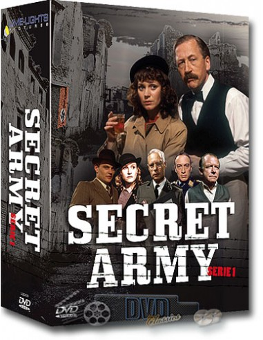 Secret army - Seizoen 1 - DVD (1977)