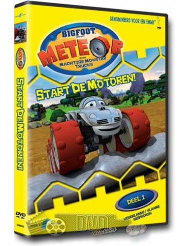 Meteor en de machtige monster trucks - Start de motoren - DVD